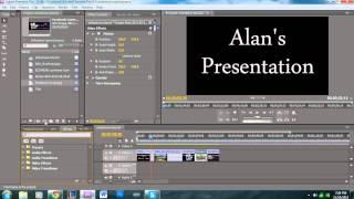 Slideshow Tutorial - Adobe Premiere Pro