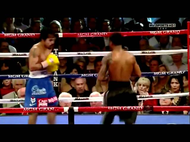 PACQUIAO & MAYWEATHER BEST PUNCHES vs MOSLEY!«HD»
