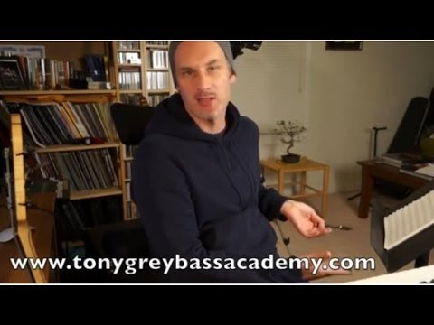 Best Bass Guitar Lessons - Learn Bass - Jazz Standards - Tony Grey video