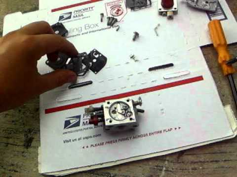 How to Rebuild a Zama Carburetor- Echo Backpack blower carb