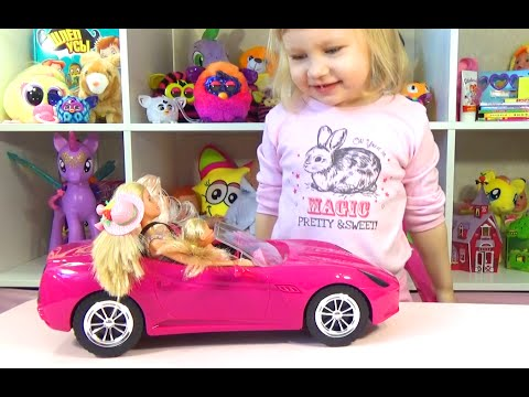 Машина для куклы Барби Штеффи Дэфа Лаки Car for Barbie doll Steffi DEFA Lucy