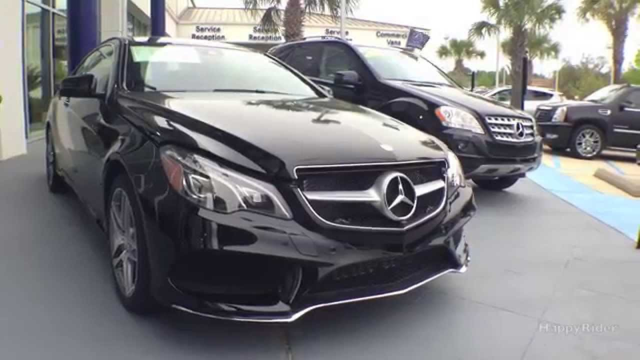 2014 Mercedes Benz E550 Coupe Full Review Start Up
