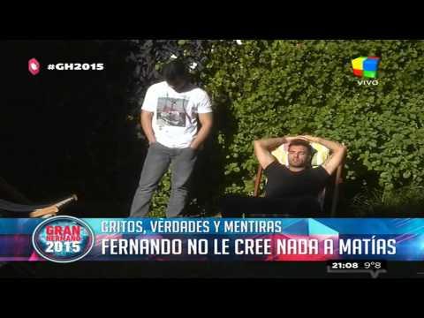 Nuevo round en la silenciosa guerra de Matías y Fernando