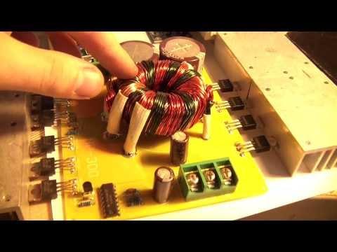 Diy 4ch Car Audio Amplifier 500w Smps Lm3886 Make Money Online