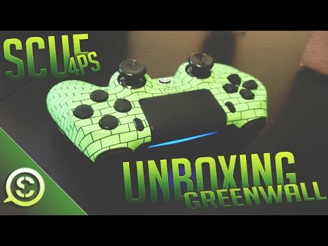 NEW OpTic Greenwall Scuf Controller 4PS Unboxing ScufGaming OpTicGaming