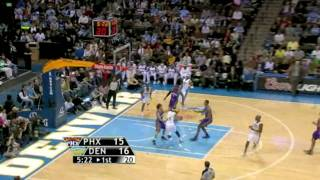 Carmelo Amazing Layy-Up! vs Suns