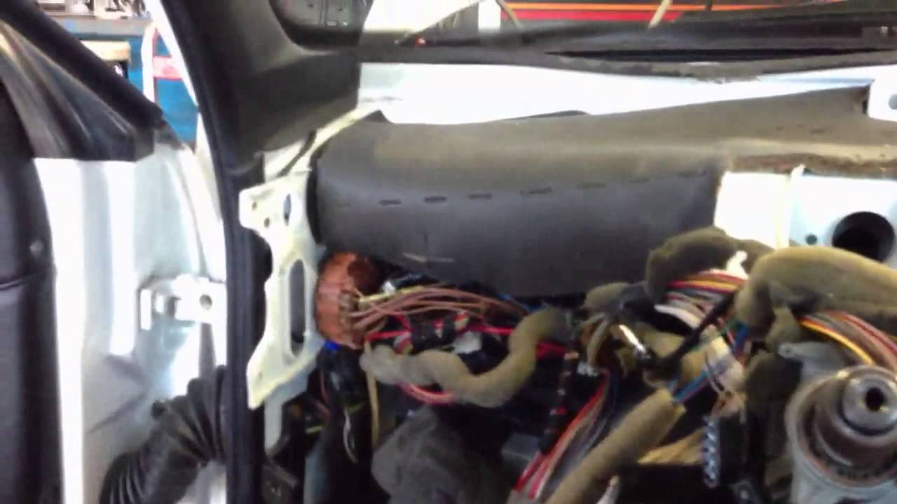 95 Vw Passat Heater Core Replacement Youtube