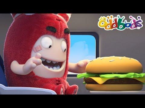 FOOD JUNKIE   NEW   Oddbods Full Episodes   Funny Cartoons