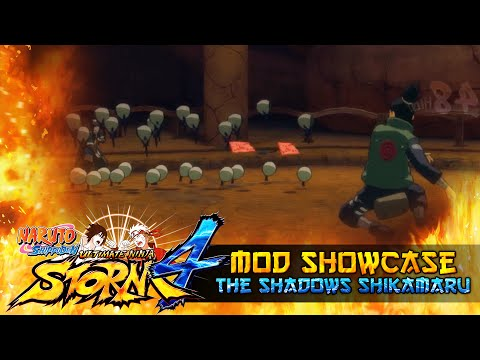 Master of The Shadows Shikamaru!!! Naruto Shippuden Ultimate Ninja Storm 4 Mods thumbnail