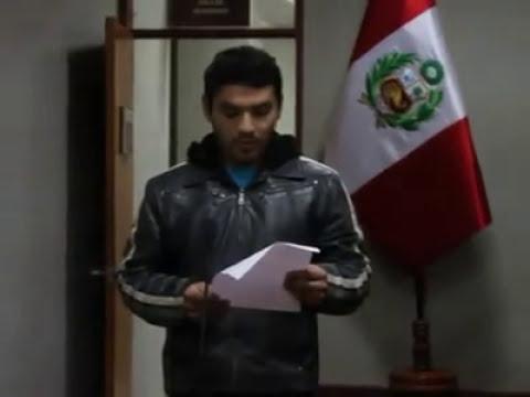 Mapuche llorón pide perdón en Tacna por insulto a la memoria del Coronel Bolognesi