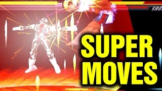 Street Fighter EX 2 Plus All Super Moves