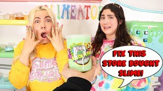 FIX THIS STORE BOUGHT SLIME CHALLENGE! Slimeatory #597