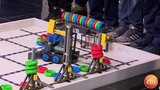 የሮቦቲክስ ተማሪዎች በእሁድን በኢቢኤስ/Sunday With EBS Robotics Student