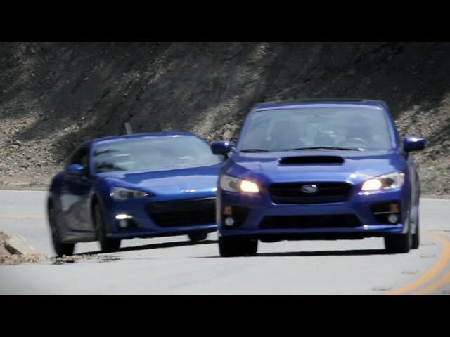 Subaru WRX Review: better than the BRZ? (FRS, GT86 ...
