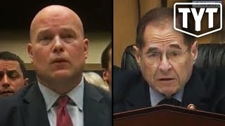 Whitaker Makes A Fool Of Himself For Trump