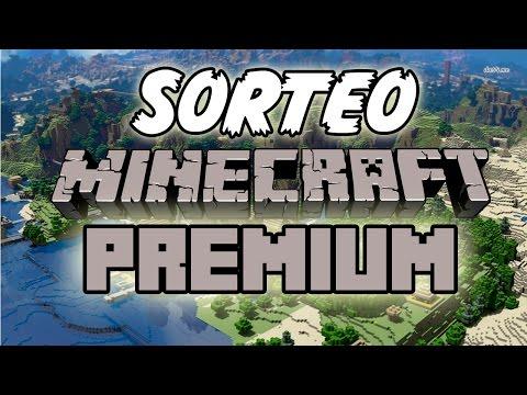 SORTEO MINECRAFT PREMIUM Cuenta Minecraft Premium Gratis