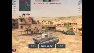Первый стрим World of Tanks Blitz - Выполняем лбз на шведа
