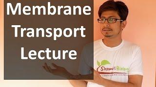 Membrane transport lecture   transport across the membrane