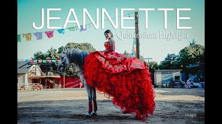 Jeannette Quinceañera Highlights