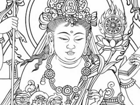 2010-m027大隨求菩薩 bodhisattva