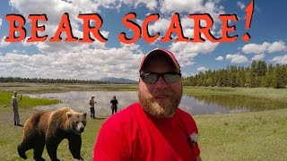 Craters, Errands, New Campsite, & Bear Scare