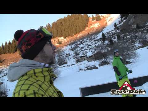 Test snowboard Burton Flight Attendant 2015