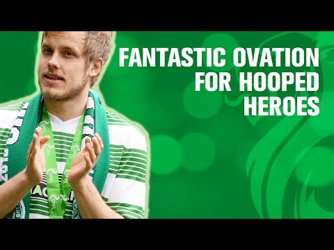 Fantastic ovation for hooped heroes
