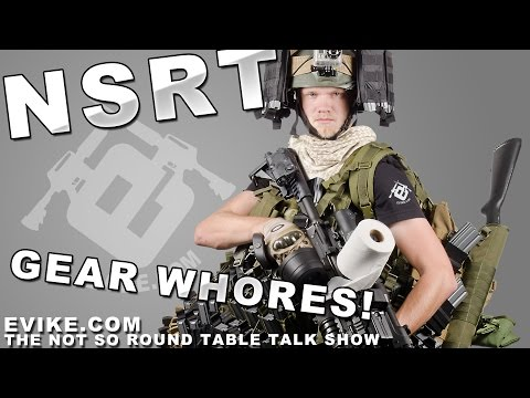"Airsoft ""Not So Round Table"" Gear Whore Time! Ep. 42 - Evike TV"