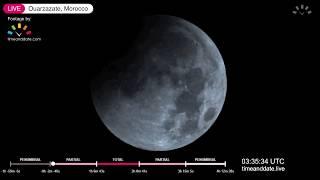 January 2019 Total Lunar Eclipse Live