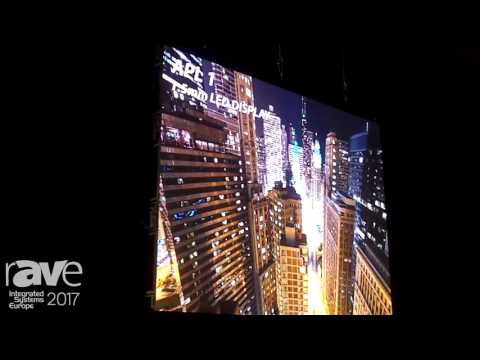 ISE 2017: Abletech Showcases APL 1 1.5mm LED Display