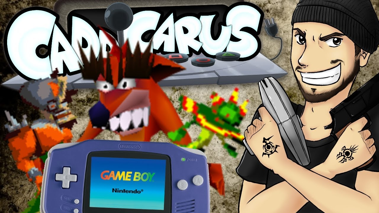 Crash Bandicoot.....on GAMEBOY ADVANCE?! - Caddicarus
