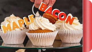 Maple Bacon Cupcake recipe | Big Night In