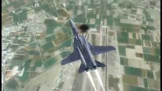 FSX : CS Weapons plane Attached