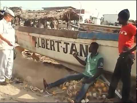 Gambia 2014 - met Jan post en Albert kramer