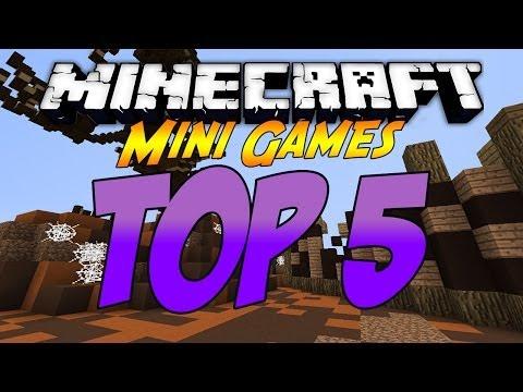 Minecraft: Top 5 Best Minigames [1.7.5] [2014]