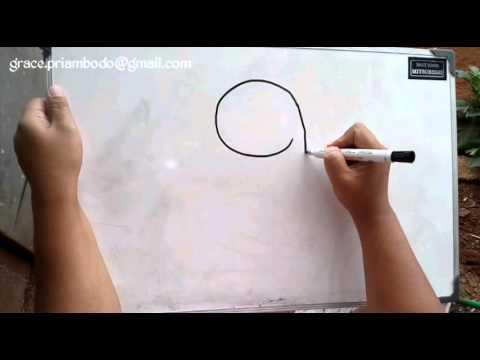 How to draw koala in simple way / Cara Mudah Menggambar Koala Untuk Anak