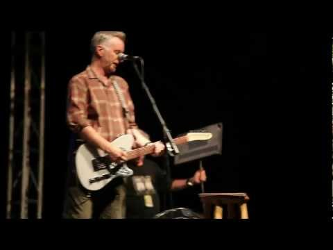 Billy Bragg - Woodyfest - Okemah, Okla - 07/12/12