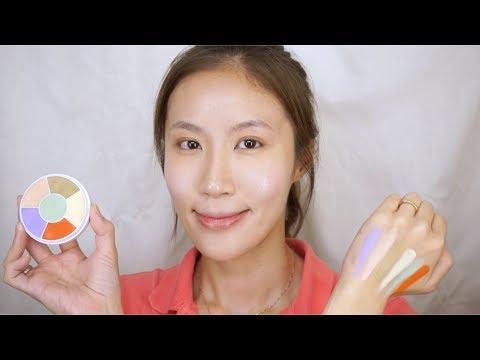 Celeste Wu 大沛   Ben Nye校色盤用法&底妝技巧分享