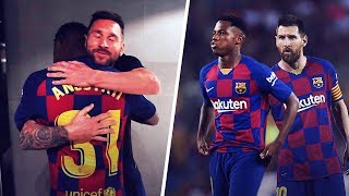 How Lionel Messi took Ansu Fati under his wing | Oh My Goal