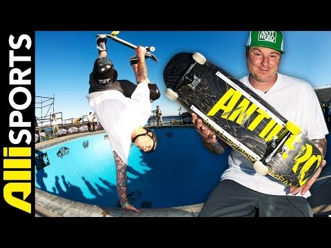 Jeff Grosso's Skateboard Setup