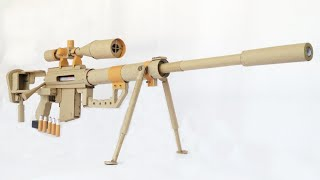 How To Make A DIY Sniper Rifle That Shoots