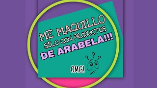 Maquillaje con productos ARABELA y esmeralda ll beauty creations ?