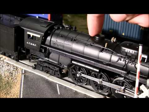 Broadway Limited 4-8-4 Northern #3751 ATSF review (2nd run) HO Scale Paragon 2