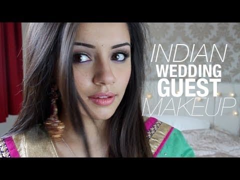 Tutorial Indian Wedding Guest Makeup Look #1 Kaushal ...