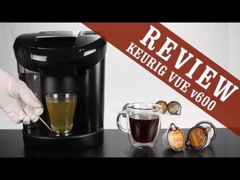 Review: Keurig VUE v600 Single Serve Coffee Maker