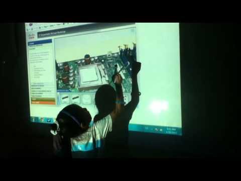 Bavaro Bilingual School Smart Board