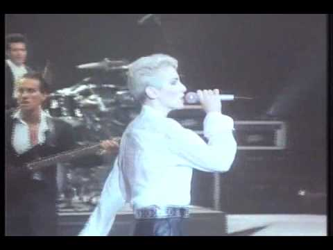 EURYTHMICS - There Must Be An Angel live 1987