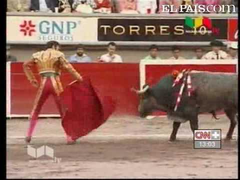 Jose Tomas, torero corneado mortalmente
