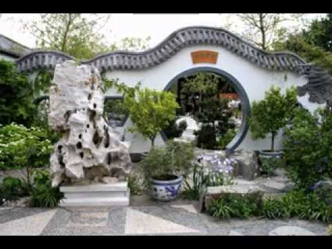 Chinese garden design youtube for Chinese landscape design
