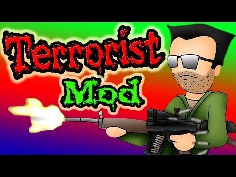 Террористы!!! Обзор Мода Minecraft! (Enemy Soldiers) №82